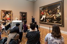 A museum educator, who generally works with medical students in the galleries, considers the healing potential of art.