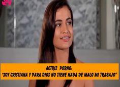"""La Gaceta Cristiana: Actriz  Porno: """"Soy Cristiana y Para Dios No Tiene..."""