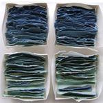 Fenella Elms, looks like stacks of handmade paper.