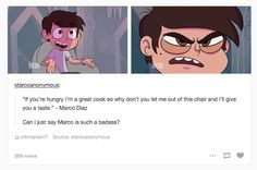 Sassy Marco is best star vs the forces of evil