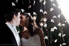 Faça você mesmo | Borboletas de papel para a decoração | Casando sem Grana