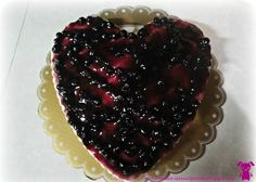 Yes its your good ol' Blueberry Cheesecake! Tart Pan, Blueberry Cheesecake, Good Ol, Pastries, Pie, Celestial, Cakes, Fruit, Heart