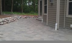 Grading, Landscaping, Paver Patios, Retaining Walls and Yard Drainage by Bob's Grading Inc.