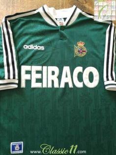 5bac735b1 Official Adidas Deportivo away football shirt from the season.