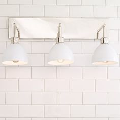Young House Love Dapper Bath Light 3-Light white_and_chrome