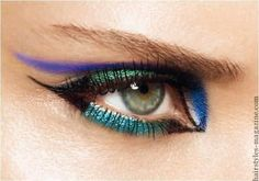 cat eyeliner style 2 Twelve Basic Eyeliner Styles (useful ones)