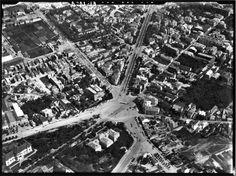 Piața Victoriei, vedere aeriană din 1927