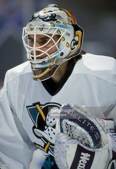 Jonas Hiller Mighty Ducks Retro Goalie Mask Goalie Masks Goalie
