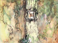 watercolour art print, wall art decoration by ApricotSalmonDesign on Etsy