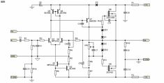 ESP Audio Projects - Lateral MOSFET Power amplifier for Hi-Fi. A very high performance amplifier, designed for high power and fidelity. Toroidal Transformer, Earthing Grounding, Power Supply Circuit, Hi Fi System, Output Device, Electrical Wiring Diagram, Stereo Amplifier, Circuit Diagram, Tecnologia