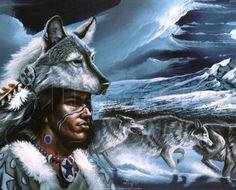 espíritu de lobo fondo de pantalla