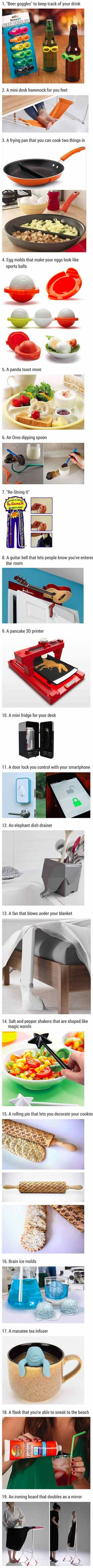 You might want these cool home gadgets and accessories but probably do not need them.