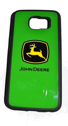 John Deere Samsung Galaxy S6 Licensed Hard Plastic Phone Case
