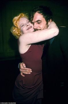 Vivienne Westwood with husband Andreas Kronthaler in 1999 at the Turner Prize at the Tate Gallery