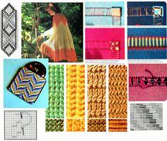Vintage Golden Hands 24 Craft Magazine by TheAtticofKitsch Zig Zag Crochet, Knit Crochet, Vintage Knitting, Vintage Sewing, Hippie Chick, Retro Clothing, Yarn Bombing, Pattern Library, Retro Ideas