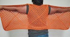 #chaleco #irregular con #granny #square todas las tallas #tutoriales en mi canal de #youtube #Andycrochet