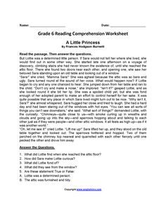 Free Printable Reading Worksheets For Grade 6 – Letter Worksheets Sixth Grade Reading, Reading Test, Reading Skills, 6th Grade Writing, Teaching Reading, Learning, English Writing Skills, English Reading, Essay Writing
