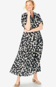 Full Figured Women, Woman Within, Comfy Dresses, Plus Size Dresses, Special Occasion, Midi Skirt, Swimsuits, Modest Fashion, Womens Fashion