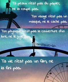 C'est tellement beau et triste Beau Message, Father Quotes, Positive And Negative, Bad Mood, Faith In Humanity, Writing Prompts, Cool Drawings, Mad World, Haha