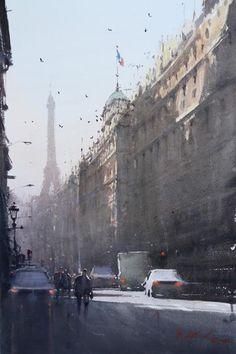 Joseph Zbukvic - perhaps simply Paris in the sun