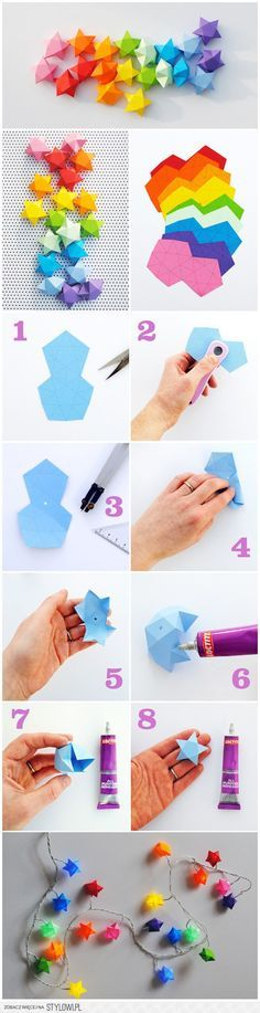 Diy Paper Crafts Decoration Origami New Ideas Origami Diy, Origami Paper, Diy Paper, Paper Crafting, Paper Art, Origami Stars, Oragami, Origami Boxes, Dollar Origami