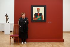From Andy Freeberg's Guardians of Russian Art Museums series.  Brings back fond memories of my semester in Russia.