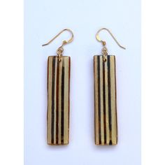 plywood earring 3