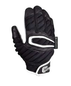 pretty nice 5fc37 38017 Cutters Football Gloves The ShockSkin Lineman Glove, Black Assortment.  S90-01