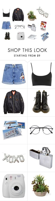 """""""marlboro"""" by montsediazreyes on Polyvore featuring Paul & Joe Sister, Dr. Martens, Bob's Your Uncle and Fujifilm"""