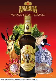 Amarula | Mzansi's Finest Treasure on Behance Coffee Drinks, Adobe Photoshop, Adobe Illustrator, Whiskey Bottle, Liquor, Caramel, Advertising, Behance, Branding