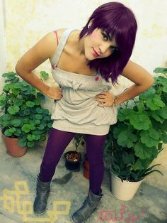 keiko lynn tutorial purple/haircut medium ombre hair color for when I grow out my hair! Ombre Hair Color, Cool Hair Color, Diesel Punk, Psychobilly, Baby Girl Haircuts, Straight Edge, Lilac Hair, Plum Hair, Rock And Roll