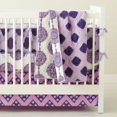 Bazaar Crib Bedding - $129 Land of Nod  *Doesn't include quilt, which is $89