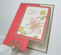 Garden in Bloom Fun Fold by Chris Slogar - Cards and Paper Crafts at Splitcoaststampers