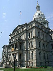Michigan Capitol Building, Lansing