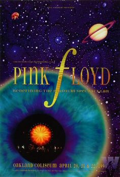 Pink Floyd~ classic heavy metal psychedelic  rock music poster