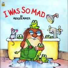 """Gift ideas: """"I Was So Mad' by Mercer Mayer with a jar of homemade cookie mix and a stuffed frog www.littleheartsbooks.com"""