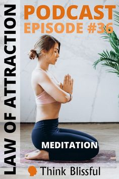 Meditation is not scary! It's a natural state of mind where we release our thoughts. Since thoughts can be limiting, meditation allows our vibration to rise and align with our inner being. The result is attracting our desires. We only attract what we vibrate and our inner being is always in vibration with our desires. #thinkblissful #meditation #howtomeditate #meditate