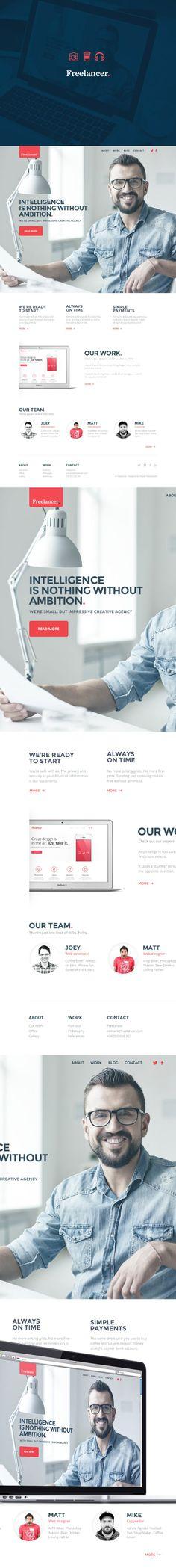 Freelancer #webdesign