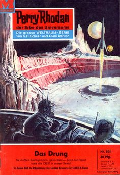 Titelbildgalerie PR 200 - 299 – Perrypedia Book Cover Art, Book Art, Sience Fiction, Perry Rhodan, 70s Sci Fi Art, Album Covers, Book Covers, Album Cover Design, Album Book