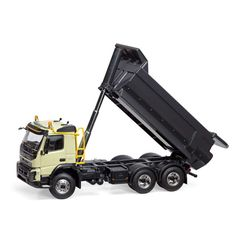 Motorart 1:50 Volvo FMX Diecast Model Lorry 300041 This Volvo FMX 6x4 Tipper Diecast Model Lorry is Cream and features working wheels. It is made by Motorart and is 1:50 scale (approx. 15cm / 5.9in long). #Motorart #ModelLorry #Volvo