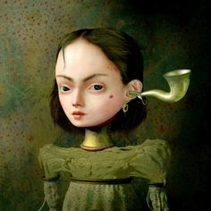 Ray Caesar - Gallery, funny how they use to use those kinda horns to hear from way before i was even thought of.