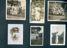 Ted's relatives in 1924