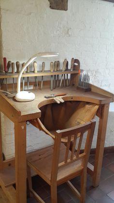 Jewellery bench - Rachel Jeffrey Jewellery School