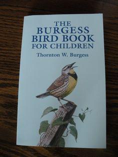 The Burgess Bird Book for Children  from Curriculum Choice