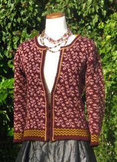 Ravelry: Berries Cardigan pattern by Terri Shea fingering