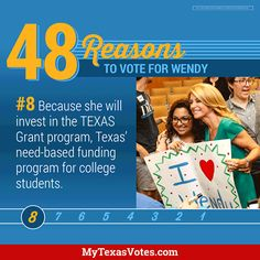 Investing in our students means investing in the future of Texas.