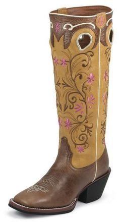 Tony Lama 3R Series Brown Travis Cowgirl Boots - Square Toe available at #Sheplers
