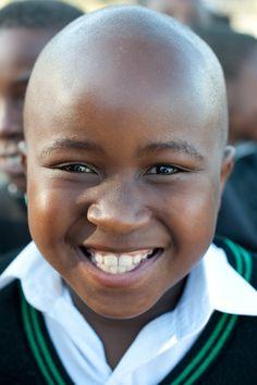 #africa #kids #smile #portrait #boy copyright by Luca Zordan