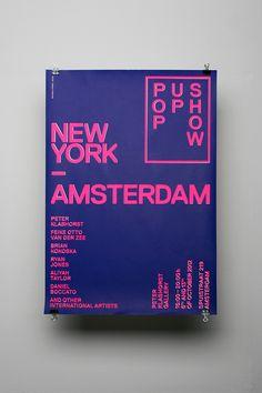 New York / Amsterdam — Pop Up Show on Behance