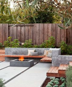 idees-deco-jardin-exterieure-cheminee-foyer-concrete